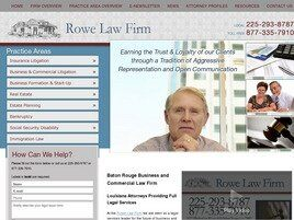 Rowe Law Firm (Baton Rouge, Louisiana)