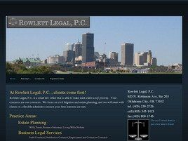 Rowlett Legal, P.C. (Lawton, Oklahoma)
