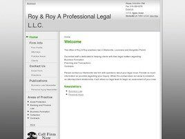 Roy & Roy A Professional Legal L.L.C. (Marksville, Louisiana)