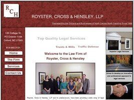 Royster, Cross & Hensley, LLP (Wake Forest, North Carolina)