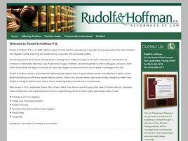 Rudolf & Hoffman, P.A. (West Palm Beach, Florida)