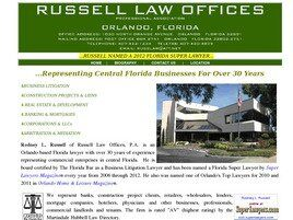 Russell Law Offices, P.A. (Orlando, Florida)