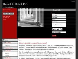Russell Z. Hetzel PC (Woodstock, Georgia)