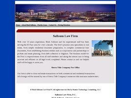 Salloum Law Firm P.C.-Sierra Title Company (El Paso, Texas)