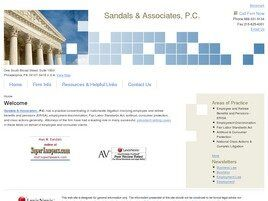 Sandals & Associates, P.C. (Philadelphia, Pennsylvania)