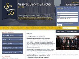 Sasscer, Clagett & Bucher (Anne Arundel Co., Maryland)