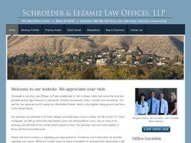 Schroeder & Lezamiz Law Offices, LLP (Boise, Idaho)