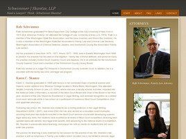 Schwimmer | Skantze, LLP (Snohomish Co., Washington)