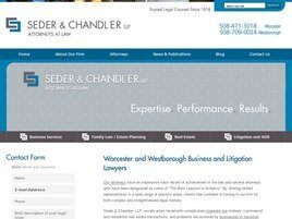Seder & Chandler LLP (Worcester, Massachusetts)
