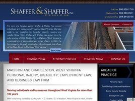Shaffer and Shaffer, PLLC (Kanawha Co., West Virginia)