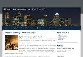 Shawn A. Luiz Attorney at Law (Honolulu, Hawaii)