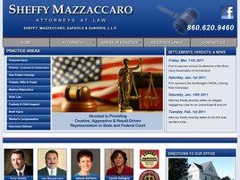 Sheffy, Mazzaccaro, DePaolo & DeNigris, LLP (Hartford Co., Connecticut)