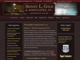 Sidney L. Gold & Associates, P.C. (Bucks Co., Pennsylvania)