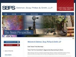 Siebman, Burg, Phillips & Smith, LLP (Plano, Texas)