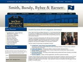 Smith, Bundy, Bybee & Barnett, P.C. (Mount Pleasant, South Carolina)