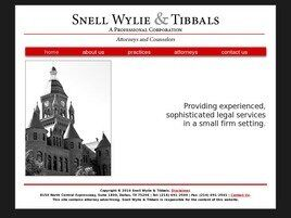 Snell Wylie & Tibbals A Professional Corporation (Fort Worth, Texas)