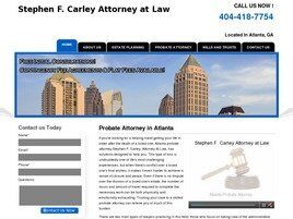 Stephen F. Carley Attorney and Counselor at Law (Roswell, Georgia)