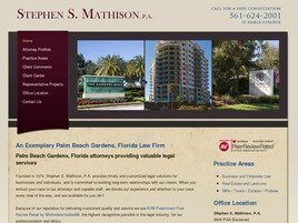 Stephen S. Mathison, P.A. (Palm Beach Gardens, Florida)