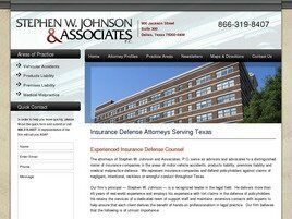 Stephen W. Johnson and Associates, P.C. (Dallas, Texas)