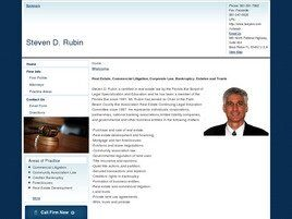 Steven D. Rubin (Palm Beach Co., Florida)