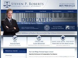 Steven P. Roberts Personal Injury Attorney (Santa Barbara Co., California)