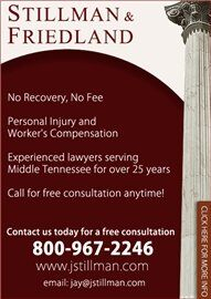 Stillman & Friedland Injury Attorneys (Nashville, Tennessee)