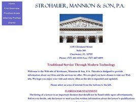 Strohauer, Mannion & Son, P.A. (Clearwater, Florida)