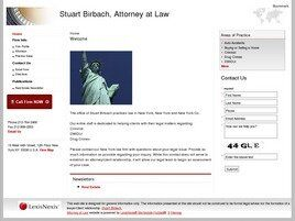 Stuart Birbach, Attorney at Law (New York, New York)