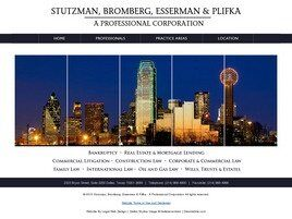 Stutzman, Bromberg, Esserman & Plifka A Professional Corporation (Dallas Co., Texas)