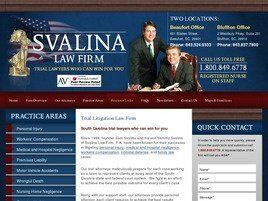 Svalina Law Firm, P.A. (Beaufort, South Carolina)