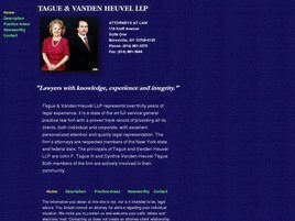 Tague & Vanden Heuvel LLP (Eastchester, New York)