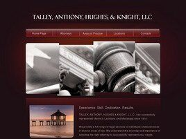 Talley, Anthony, Hughes & Knight, L.L.C. (Slidell, Louisiana)