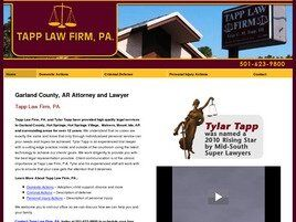 Tapp Law Firm, PA (Hot Springs, Arkansas)