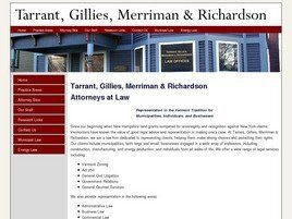 Tarrant, Gillies, Merriman & Richardson (Burlington, Vermont)