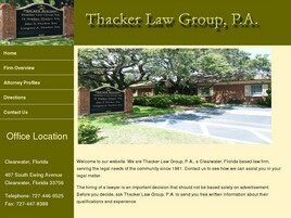 Thacker Law Group, P.A. (Clearwater, Florida)