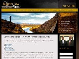 The Biggers Law Firm, P.C. (Dallas, Texas)