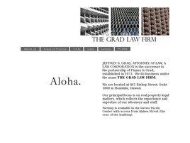 The Grad Law Firm (Honolulu, Hawaii)