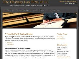 The Hastings Law Firm, PLLC (Wilmington, North Carolina)