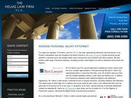 The Helms Law Firm P.L.C. (Maricopa Co., Arizona)