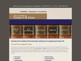The Law Firm of Cognetti & Cimini (Luzerne Co., Pennsylvania)