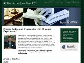 The Homer Law Firm, P.C. (Plainfield, Illinois)