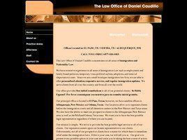 The Law Office of Daniel Caudillo (Odessa, Texas)