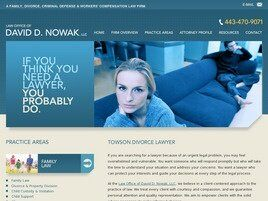 The Law Office of David D. Nowak, LLC (Towson, Maryland)