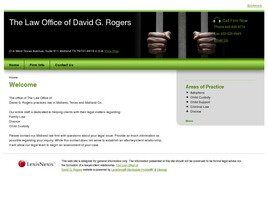The Law Office of David G. Rogers (Odessa, Texas)