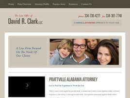 The Law Office of David R. Clark, LLC (Prattville, Alabama)