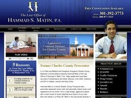 The Law Office of Hammad S. Matin, P.A. (La Plata, Maryland)