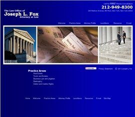 The Law Office of Joseph L. Fox Attorney at Law (New York, New York)