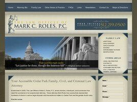 The Law Office of Mark C. Roles, P.C. A Professional Corporation (Round Rock, Texas)