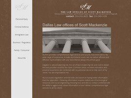 The Law Office of Scott Mackenzie, P.C. (Collin Co., Texas)