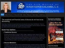 The Law Office of Susan Saper Galamba, L.C. (Overland Park, Kansas)